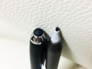 ※左側がXPERIA用で、右側が今回のモニター商品です。